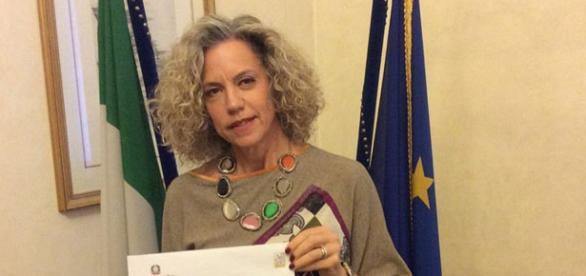 La senatrice del PD, Monica Cirinnà