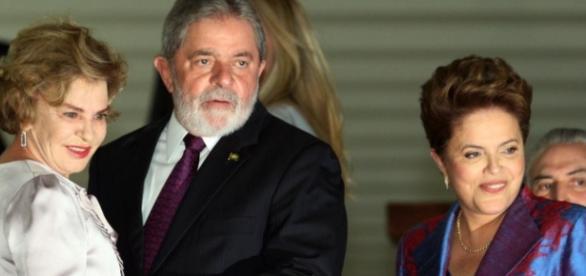 Luis Inácio Lula da Sila e Marisa