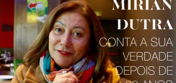 Na Europa, a jornalista quebra seu silêncio
