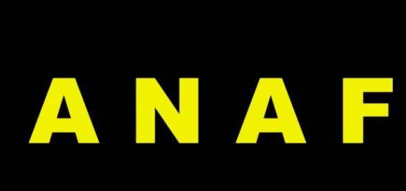 sigla ANAF, in culori semnificative