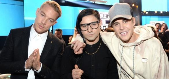 Skrillex, Diplo e Justin Bieber foram premiados