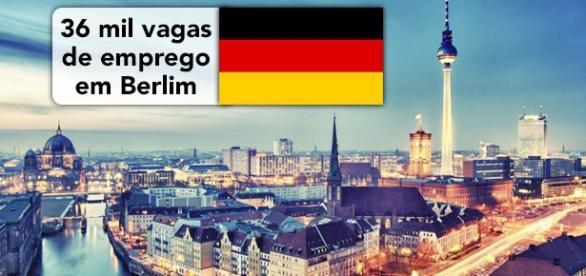 Mais de 36 mil vagas em Berlim. Foto: Revista-b