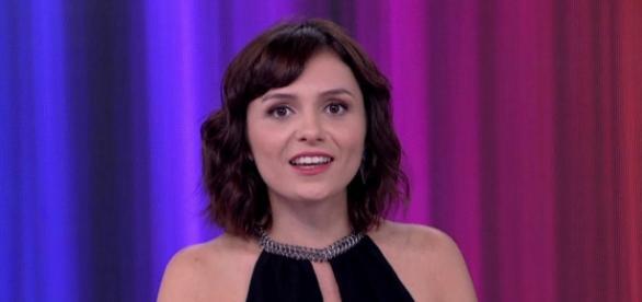 Monica Iozzi no 'Vídeo Show' - Foto/Reprodução