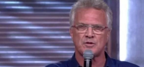 Pedro Bial no Big Brother - Foto/Reprodução