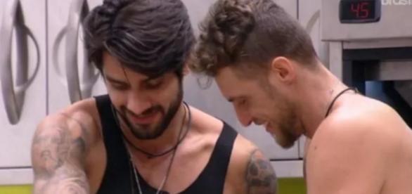 Renan e Daniel tinham muita afinidade no BBB