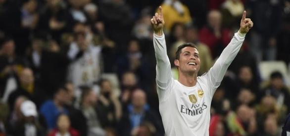 Cristiano Ronaldo celebrando un gol.