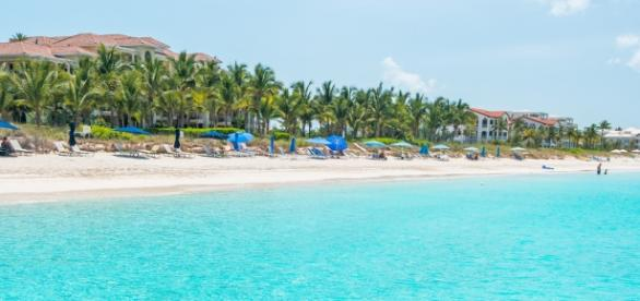 1° lugar: Grace Bay - Turks e Caicos