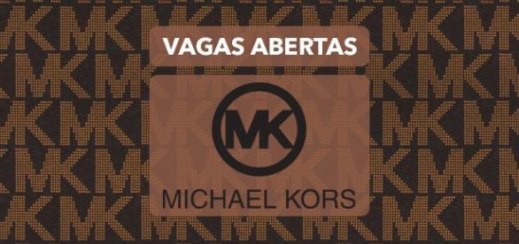 Michael Kors está com vagas abertas.