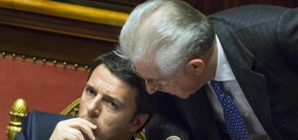 Monti critica Renzi per i toni polemici contro Ue