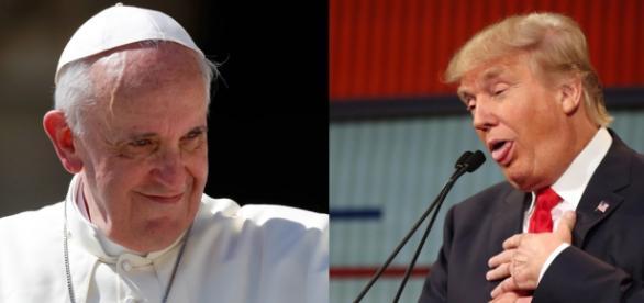 Papa e Trump divergem opiniões sobre imigração