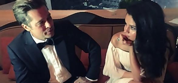 Selena e Brad se encontraram no 'Globo de Ouro'