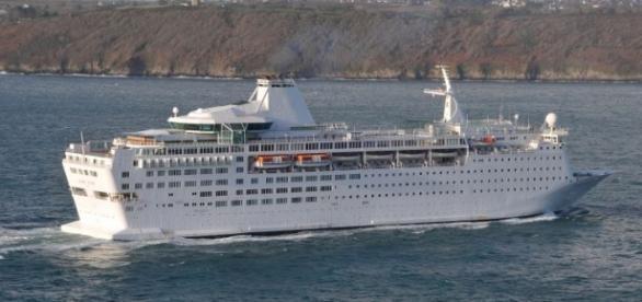 """Vasul de croazieră """"Ocean Gala"""""""