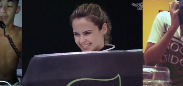 Ana Paula na prova do líder do BBB