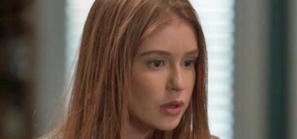 Eliza é enganada pelo madrasto (Gshow).