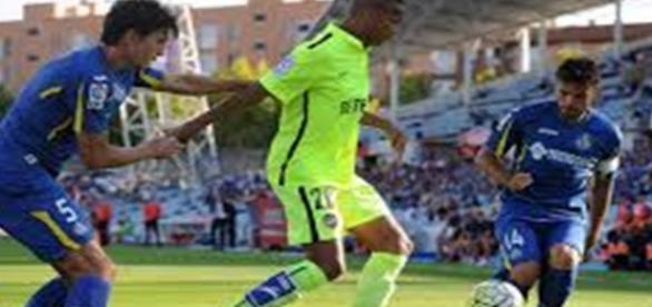 Getafe-Levante en la primera vuelta de Liga.