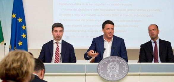 Orlando, Renzi e Alfano: no amnistia e indulto