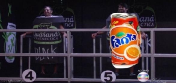 Renan vira Fanta na internet - Foto/Reprodução