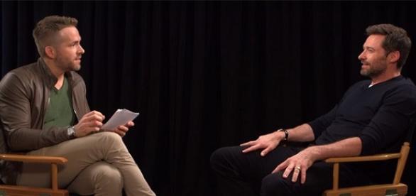Ryan Reynolds y Hugh Jackman. Imagen de video