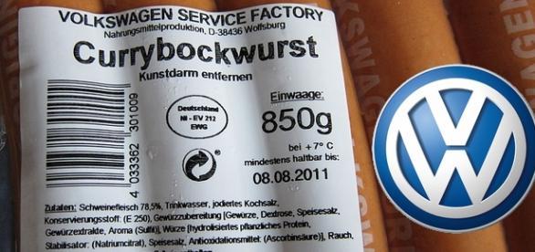 Salsicha produzida pela Volkswagen
