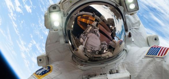 Astronaut Mike Hopkins (Wikimedia)