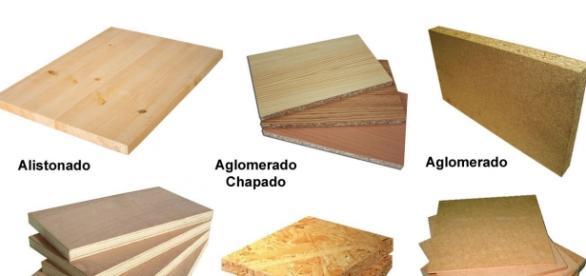 Diferentes tipos de materiales pétreos.