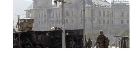 Fuente: 20minutos.es. Soldados en Kabul.