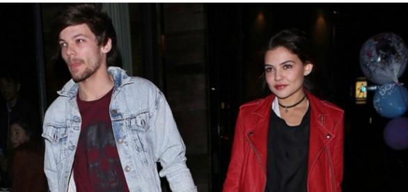 Louis Tomlinson com a nova namorada