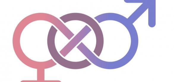 Signo masculino y femenino conectados