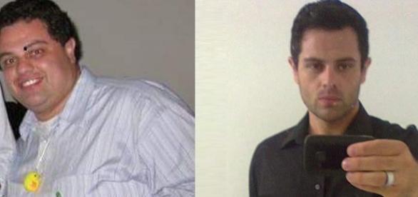 Com ajuda de uma nutricionista, ele perdeu 70kg.