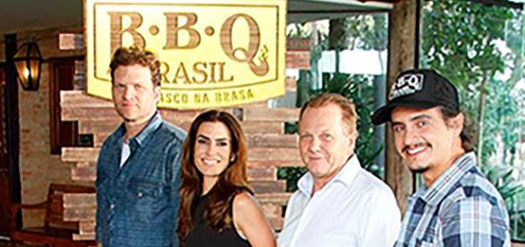 Equipe do BBQ Brasil recebe Jair Coser