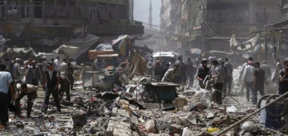 Masacre en Siria por parte del Estado Islamico