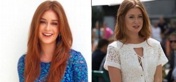 Marina Ruy Barbosa polemiza com cabelo (de novo)