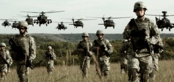Aproximativ 1000 de militari americani în România