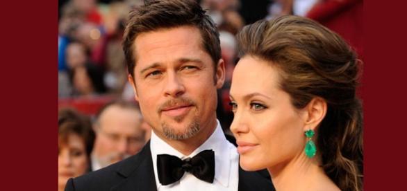 Brad Pitt y Angelina Jolie en los Óscares 2007