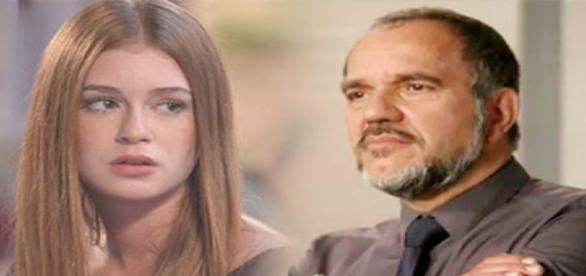 Eliza e Germano descobrem parentesco