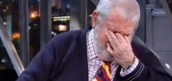Jô Soares chora - Foto/Reprodução: Globo