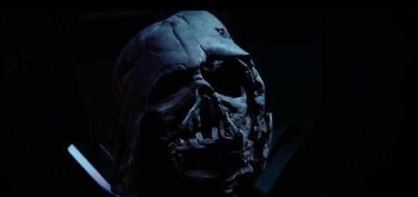 Lo que quedó del mítico Darth Vader