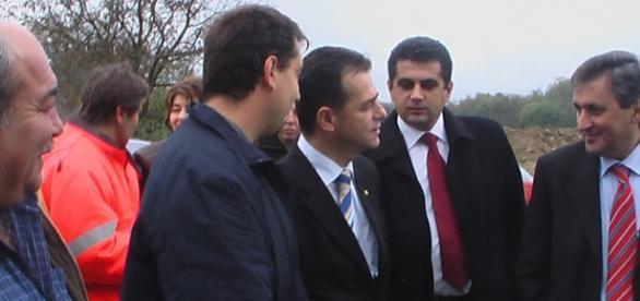 Ludovic Orban când era ministrul transporturilor