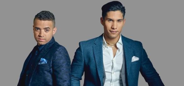 Nacho (izquierda) del dúo venezolano Chino y Nacho