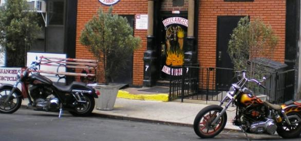 Symbolbild: Klubhaus der Hells Angels in New York