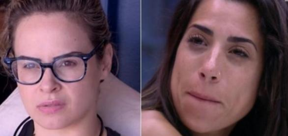 Ana Paula e Juliana - Foto/Montagem