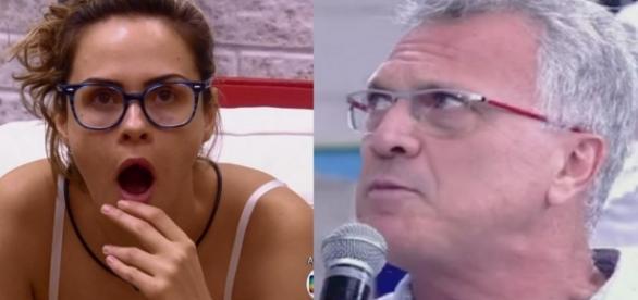Ana Paula e Pedro Bial - Foto/Montagem
