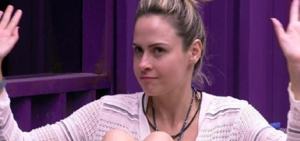Ana Paula no 'Big Brother Brasil' - Foto/Reprod
