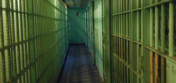 Imagen interior de una penitenciaría