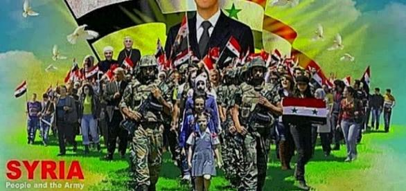 Naród syryjski zaczyna żyć nadzieją zwycięstwa.