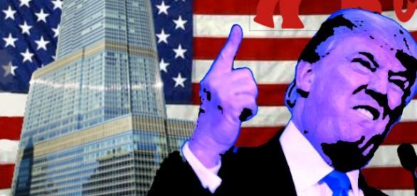 Trump en su campaña por la candidatura republicana