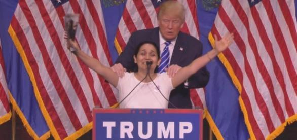 Hispânica celebra vitória de Trump