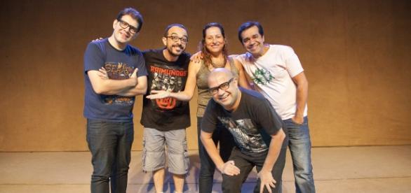 Grupo já fez shows de humor por todo o Brasil
