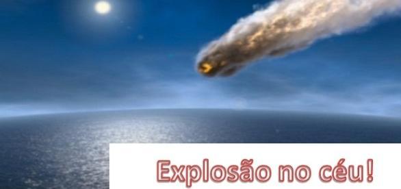 Meteoro cai em costa brasileira