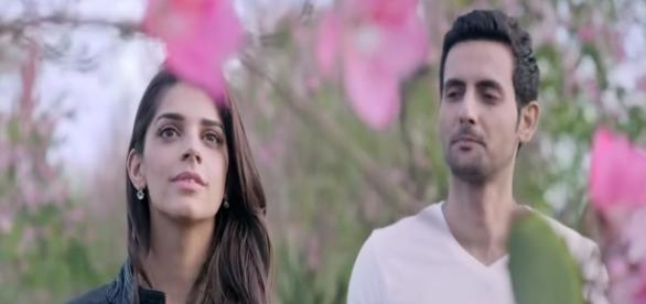 Sanam and Mohib in Bachaana. Courtesy: HUM Films